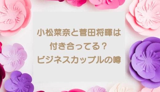 小松菜奈と菅田将暉は付き合ってる?結婚は?ビジネスという噂も