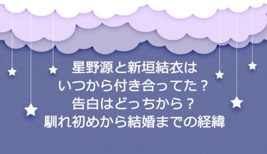 星野源と新垣結衣はいつから交際してたの?どっちから?馴れ初めから結婚までの経緯
